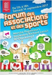 Paris XIe Forum des Associations